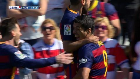Mål: Barcelona tillbaka i tillfällig mästarposition (0-1)