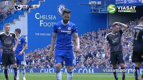 Mål: Chelsea tar ledningen - Fabregas nätar på straff (1-0)