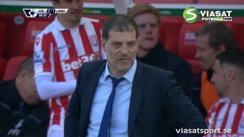 Mål: Diouf avgör för Stoke (2-1)