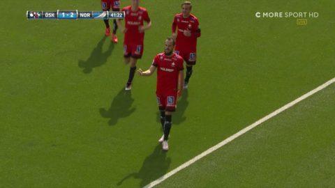 MÅL: Efter Wahlqvist dunderskott - Kujovic trycker in 2-1 på returen
