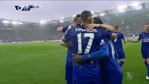 Mål: Leicester utökar - King nätar (2-0)