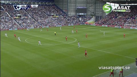 Mål: Liverpool kvitterar - Ibe nätar på The Hawthorns (1-1)