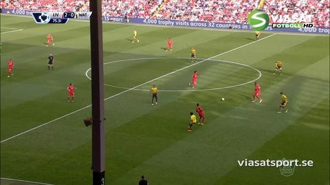 Mål: Liverpool utökar genom Firmino (2-0)