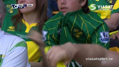 Mål: Mata öppnar målskyttet mot Norwich (0-1)