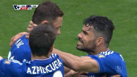Mål: Matic ger Chelsea ledningen på nytt (1-2)