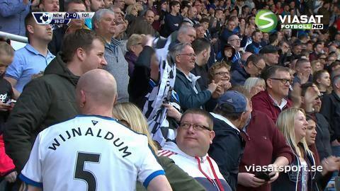 Mål: Newcastle utökar genom Mitrovic (2-0)
