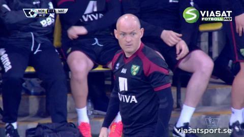 Mål: Redmond replikerar strax efter Watfords ledning (1-1)