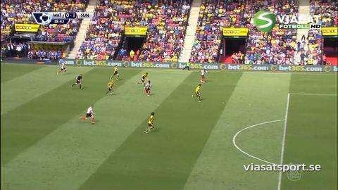 Mål: Rodwell öppnar målskyttet mot Watford (0-1)