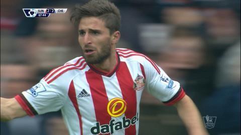 Mål: Sunderland kvitterar - Borini nätar (2-2)