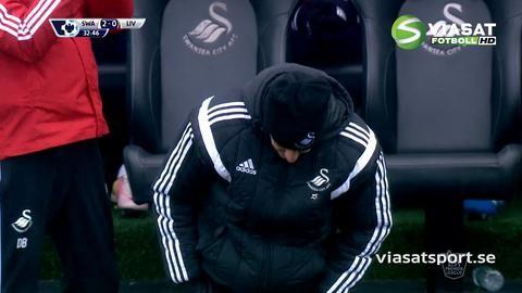 Mål: Swansea utökar på hemmaplan genom Cork (2-0)
