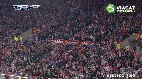 Mål: Van Aanholt nätar på frispark (1-0)