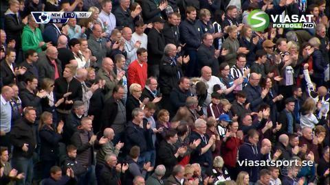 Mål: Wijnaldum trycker in ledningen för Newcastle (1-0)