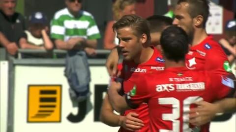 Månadens spelare - Chrtistoffer Nyman - sätter 1-0 för Norrköping