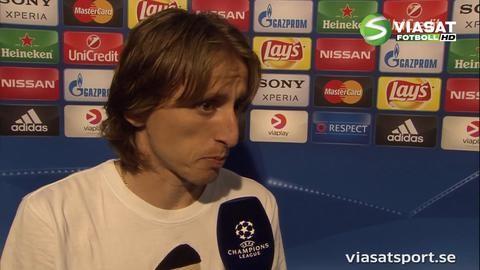 """Modric om finalen mot Atlético: """"De är ett fantastiskt lag"""""""