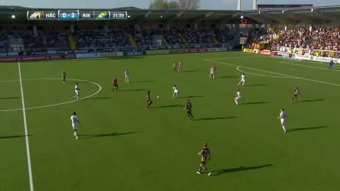 Paulinho reducerar för Häcken mot AIK