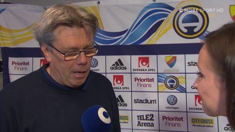 """Pelle Olsson: """"Vi spelar bra från första början"""""""