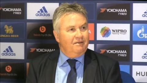 Ranieri ringde Hiddink för att tacka