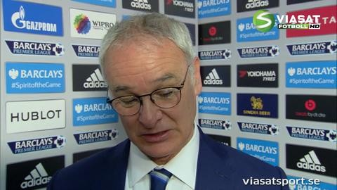 """Ranieri: """"Vill tacka våra och Chelseas fans"""""""