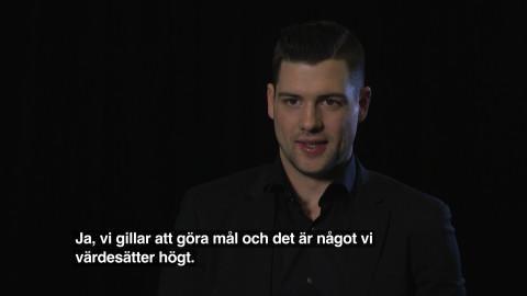 Reportage: Viasat Hockey möter Jamie Benn