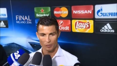 """Ronaldo: """"Visste att jag skulle sätta straffen"""""""