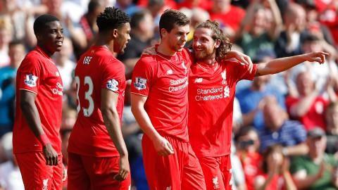 Sammandrag: Allen matchhjälte när Liverpool segrade på Anfield