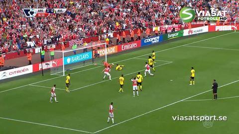 Sammandrag: Arsenal knep andraplatsen efter seger