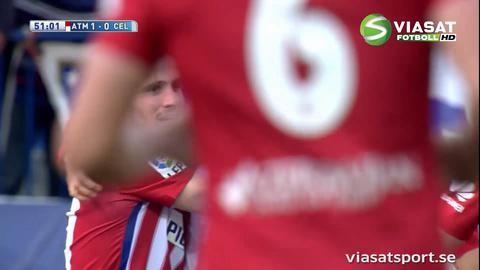 Sammandrag: Atlético slog Celta Vigo hemma