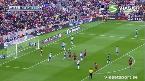 Sammandrag: Barcelona överlägset i derbyt