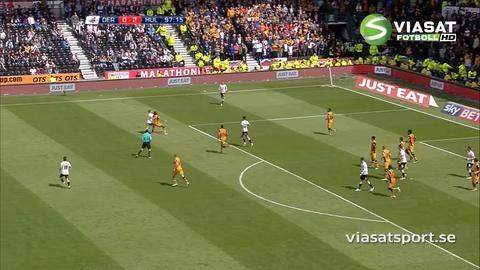Sammandrag: Hull krossade Derby i första semifinalmötet