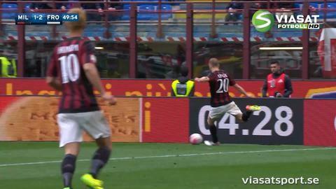 Sammandrag: Milan hämtade upp underläge och grusade Frosinones Serie A-drömmar