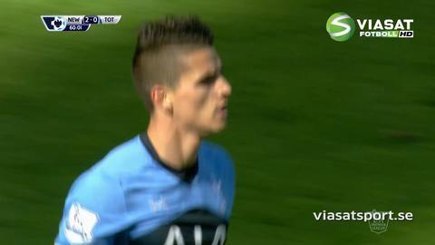 Sammandrag: Newcastle krossade Tottenham på hemmaplan