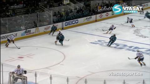 Sammandrag: San Jose Sharks-Nashville Predators (5-0)