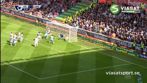 Sammandrag: Stoke vann med uddamålet