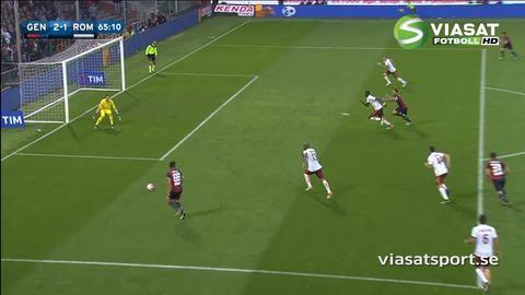 Sammandrag: Totti slog till på nytt i Romas seger