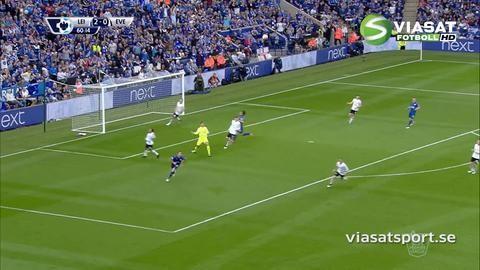Sammandrag: Vardy tvåmålsskytt när Leicester segrade på hemmaplan