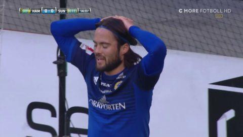 """""""Sellin missar öppet mål"""" - jätteläget som borde gett 1-0"""
