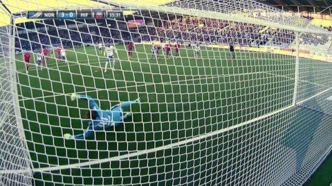 Straff Norrköping - Kujovic sätter 3-0 säkert
