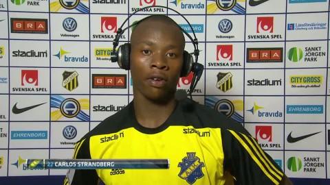 """Strandberg kan stanna i AIK: """"Bra klubb med bra fans"""""""