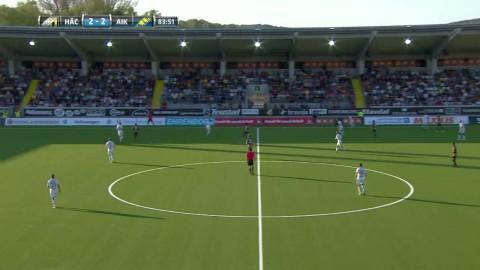 Strandberg tvåmålsskytt mot gamla klubben Häcken - sätter 3-2