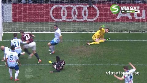 TV: Balotellis dubbla missar mot Frosinone
