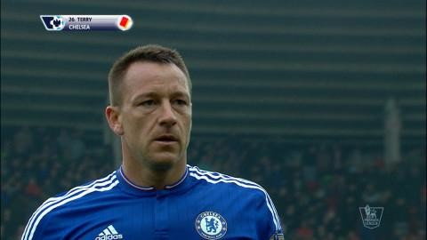 Video: Terry utvisad mot Sunderland