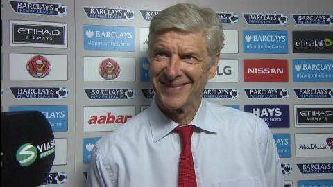 """Wenger: """"Ett positivt resultat för oss"""""""