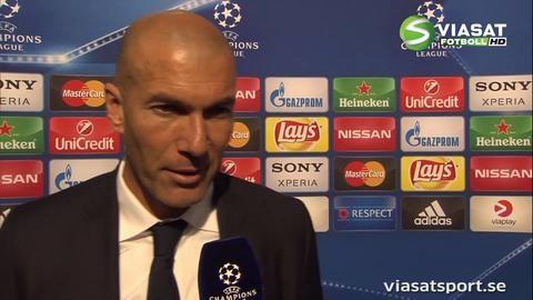 """Zidane: """"Vi är i final - det är det som räknas"""""""