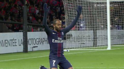 Zlatan inblandad i 2-0 - Lucas nätar efter fint spel
