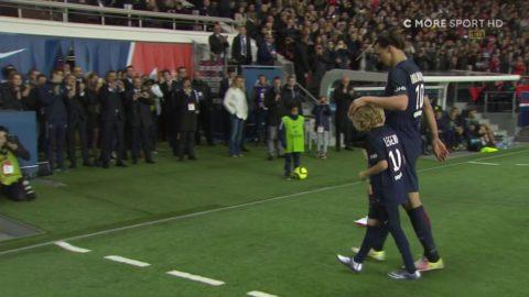 Zlatan slår målrekord och omfamnas av sina barn