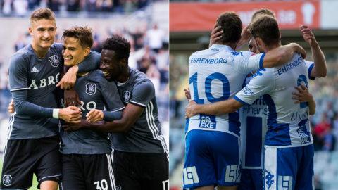 AIK och IFK överlägsna i EL-kval