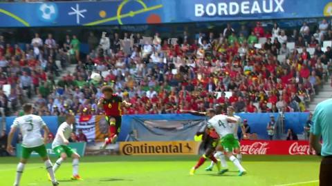 Belgien utökar till 2-0 genom Axel Witsel!