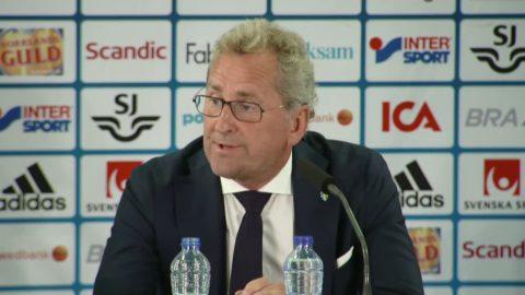 Hamréns sista presskonferens – summerar sin tid som förbundskapten