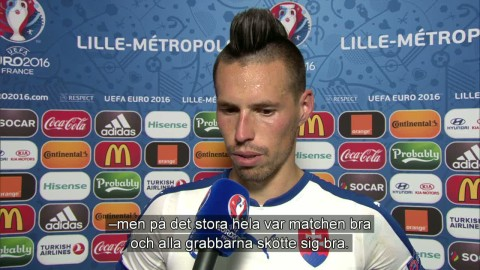"""Hamsik: """"Första målet fick det att lossna för oss"""""""