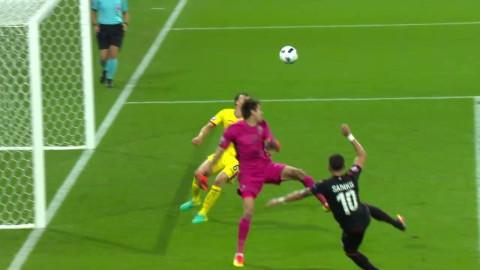 Höjdpunkter: Albanien tog historisk seger mot Rumänien